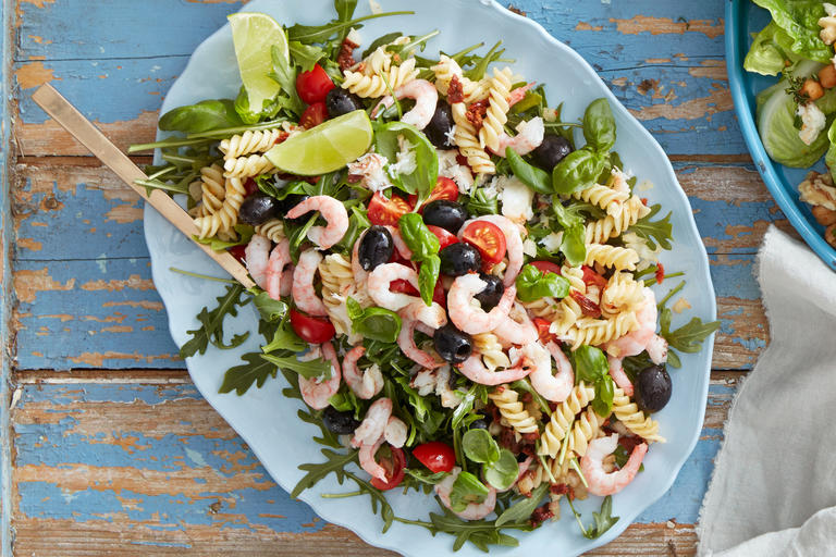 Sunshine Shellfish Salad